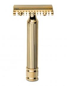 Fatip - rasoio di sicurezza dorato 80 mm open comb