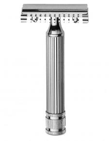 Fatip - rasoio di sicurezza cromato 80 mm open comb