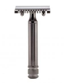 Fatip - rasoio di sicurezza metal black 80 mm open comb