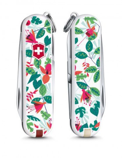 "Victorinox - Classic ""Rainforest Walk"" Coltello Multiuso 58 mm"