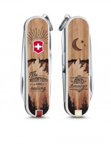 "Victorinox - Classic ""Mount are Calling"" Coltello Multiuso 58 mm"