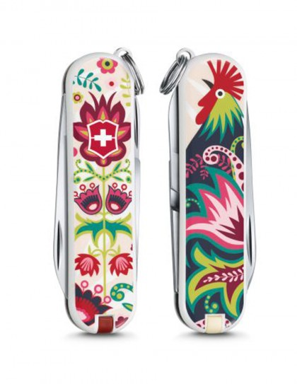 "Victorinox - Classic ""Happy Folks"" Coltello Multiuso 58 mm"