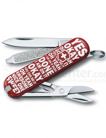 "Victorinox - Classic ""Flip To Decide"" Coltello Multiuso 58 mm"