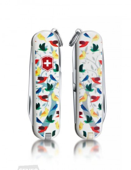 "Victorinox - Classic ""Little Birds"" Coltello Multiuso 58 mm"