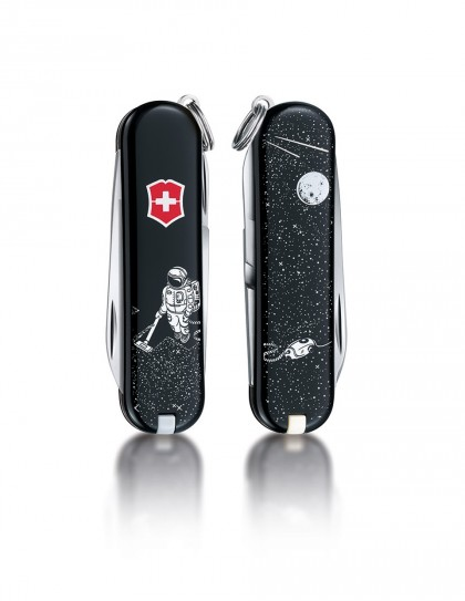 "Victorinox - Classic ""Space Cleaner"" Coltello Multiuso 58 mm"