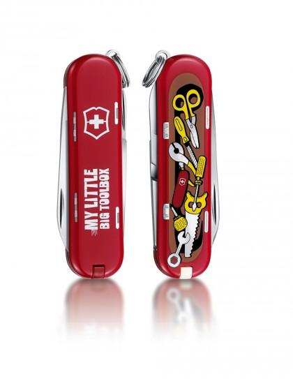 "Victorinox - Classic ""My little big toolbox"" Coltello Multiuso 58 mm"