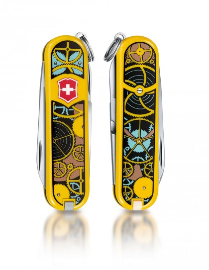 "Victorinox - Classic ""Swiss Clockwork"" Coltello Multiuso 58 mm"