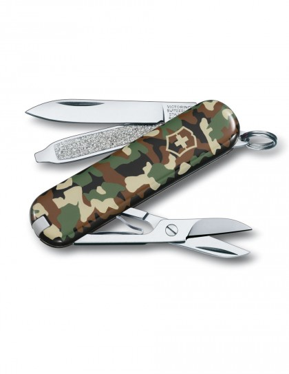 Victorinox - Classic SD Camoufl Coltello Multiuso 58 mm