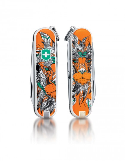 "Victorinox - Classic ""Lion King"" Coltello Multiuso 58 mm"