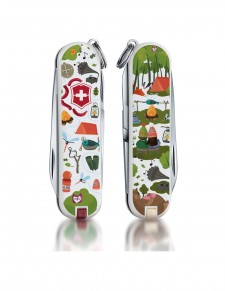 "Victorinox - Classic ""Nature Adventure"" Coltello Multiuso 58 mm"