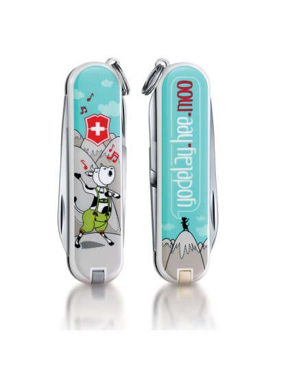 "Victorinox - Classic ""Yodelay-hee-moo"" Coltello Multiuso 58 mm"