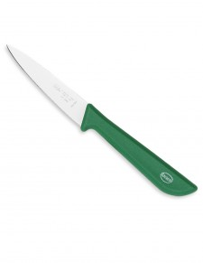 Sanelli - Spelucchino cm.10 - Coltello per verdura verde Linea Lario