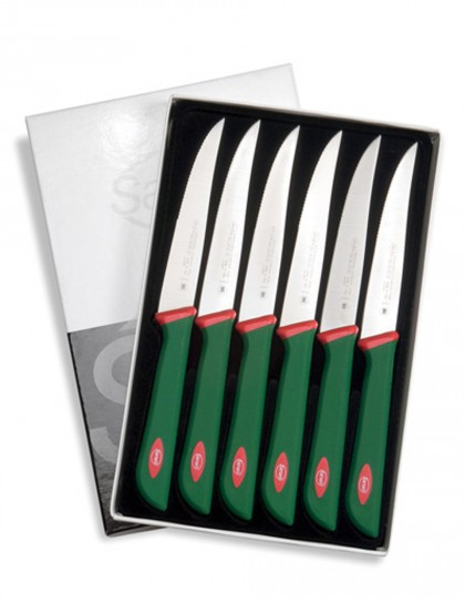 Sanelli - Confezione pz. 6 coltelli da costata