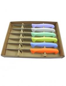 Pomoni - Conf. 6 pezzi - Coltello bistecca cm.11