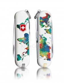 "Victorinox - Classic ""The World-My Home"" Coltello Multiuso 58 mm"