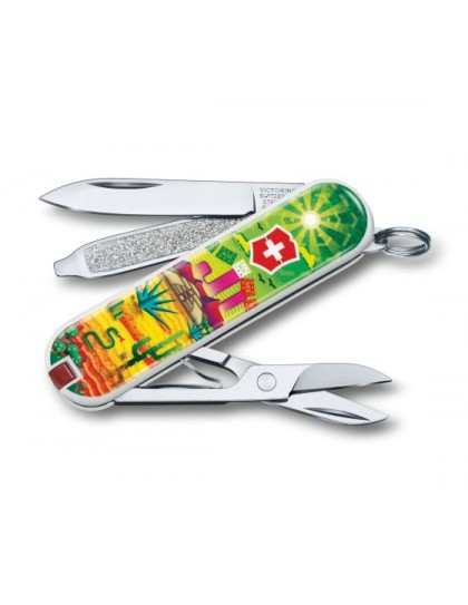 "Victorinox - Classic ""Mexican Sunset"" Coltello Multiuso 58 mm"