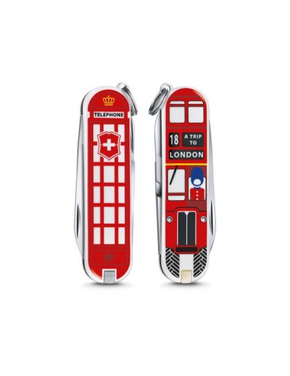 "Victorinox - Classic ""A Trip to London"" Coltello Multiuso 58 mm"