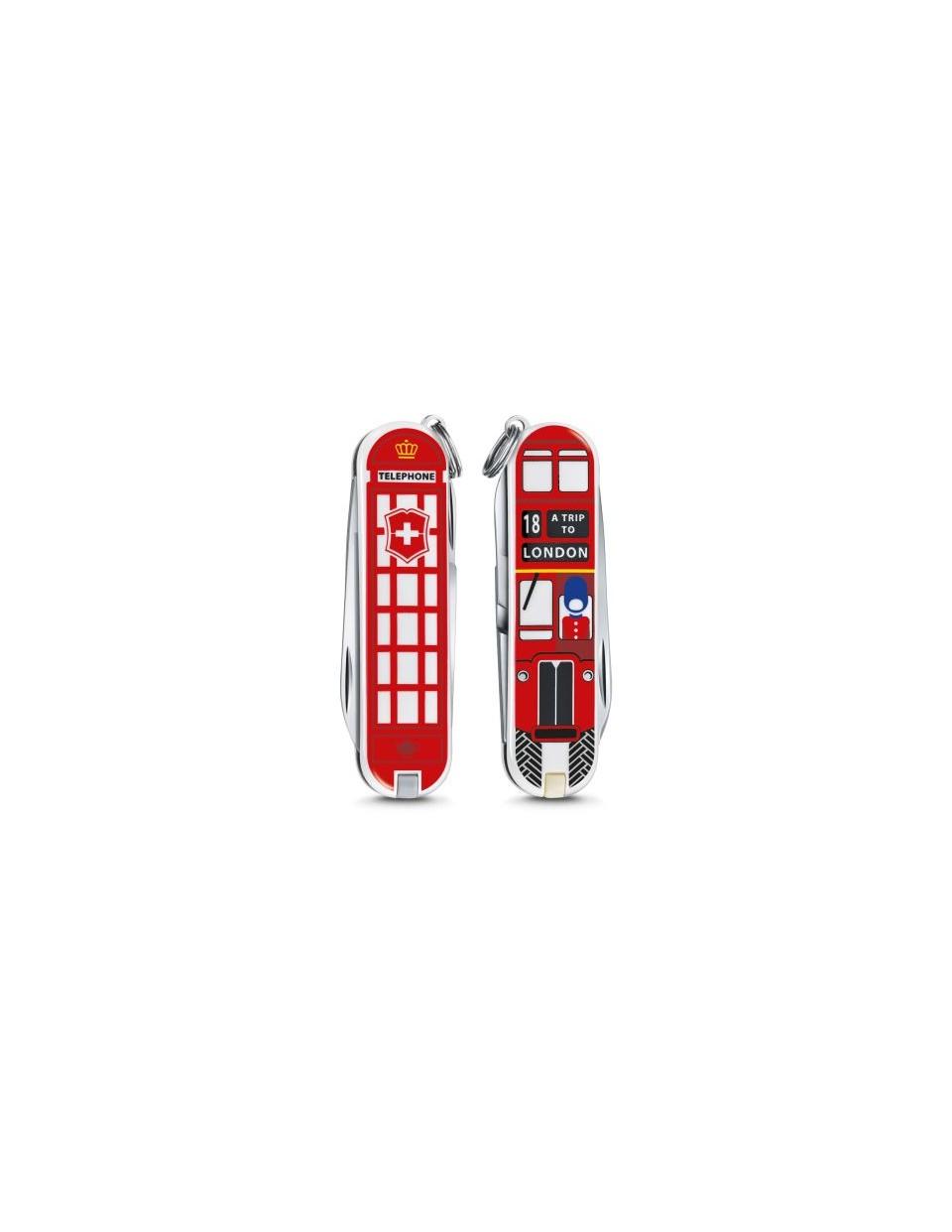 """Victorinox - Classic """"A Trip to London"""" Coltello Multiuso 58 mm"""