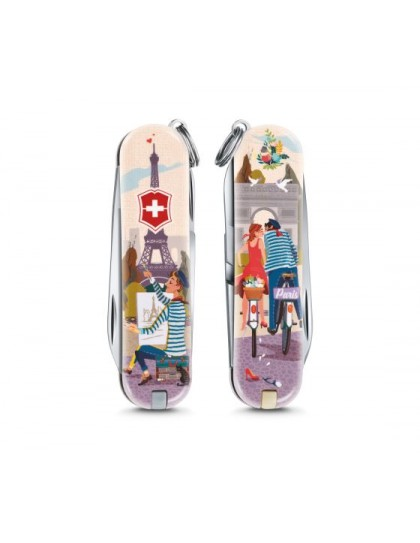 "Victorinox - Classic ""The City of Love"" Coltello Multiuso 58 mm"