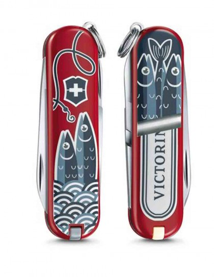 "Victorinox - Classic ""Color up your life"" Coltello Multiuso 58 mm"