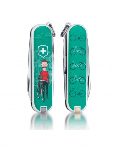 "Victorinox - Classic ""Ride your Bike"" Coltello Multiuso 58 mm"